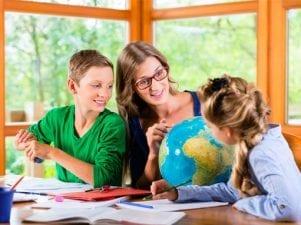 Обучение детей дома