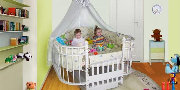 Спальные места для двойни