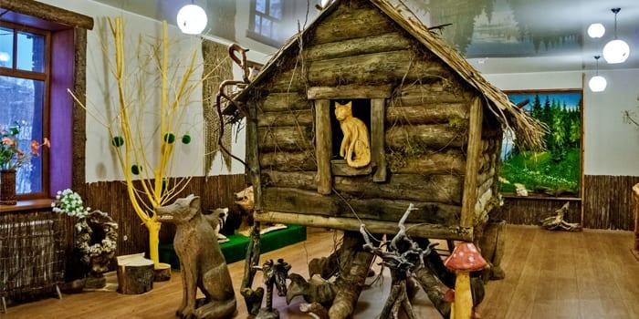 Экспозиция музея Лес-чудодей