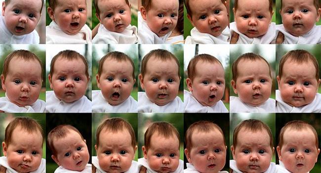 Эмоции младенца