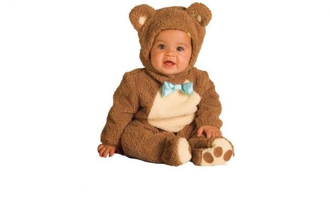 Костюм медвежонка для новорожденных