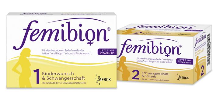 Витамины Фемибион