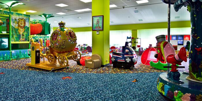 Игровой зал отеля Лес Арт Резорт