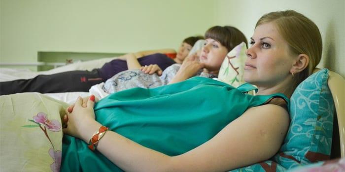 Женщины на сохранении в больнице