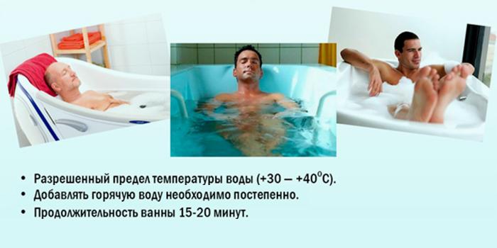 Как мужчине принимать ванну