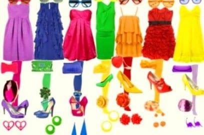 Как научиться правильно подбирать и сочетать цвета и оттенки в одежде