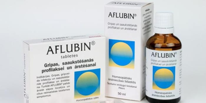 Капли и таблетки Афлубин