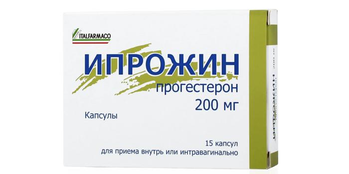 Капсулы Ипрожин