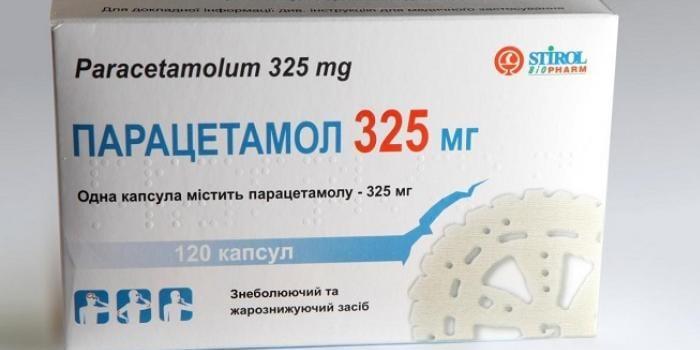 Капсулы Парацетамол