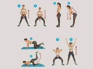 Делайте эти 5 упражнений, чтобы избавиться от целлюлита