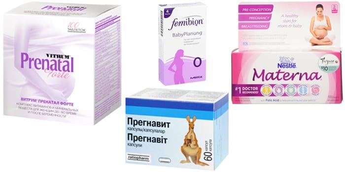 Комплексы для планирования беременности