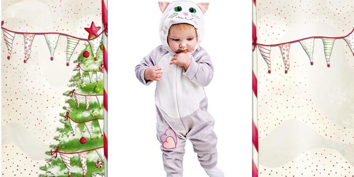 Кошечка для младенцев