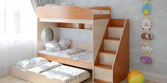 Кровать-матрешка