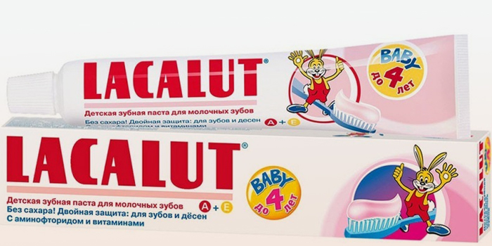 Lacalut Baby с малиновым вкусом