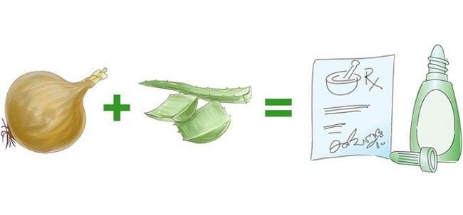Рецепт с луком и каланхоэ от насморка