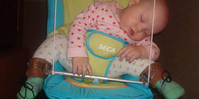 Малыш в шине Виленского