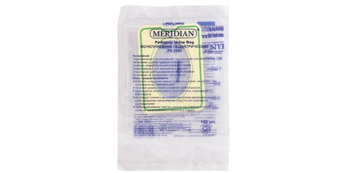 Педиатрический мочесборник Meridian