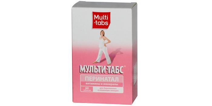 Комплексное витаминно-минеральное средство MultiTabs