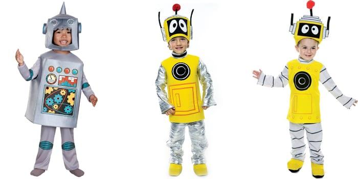 Варианты нарядов Роботов