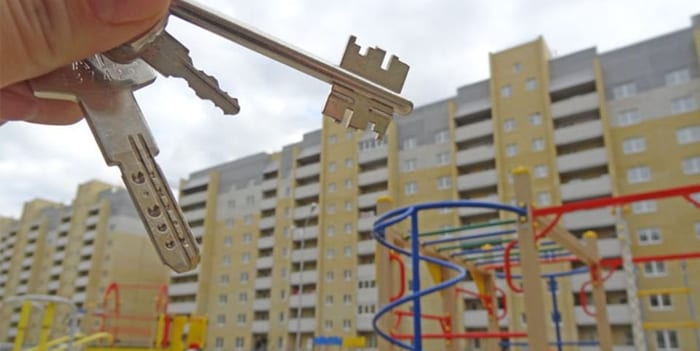 Новое жилье и ключи
