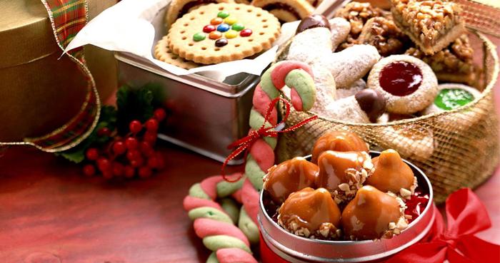 Печенья и конфеты