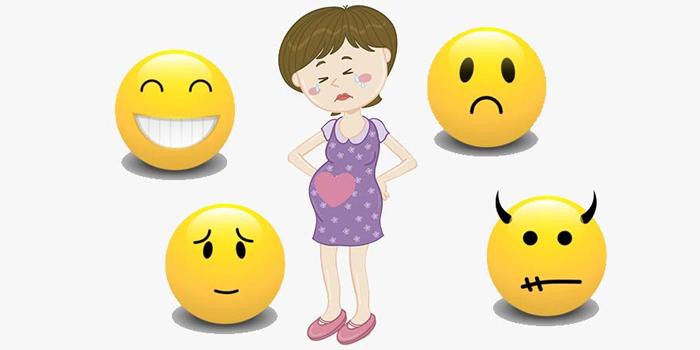 Перепады настроения у беременной