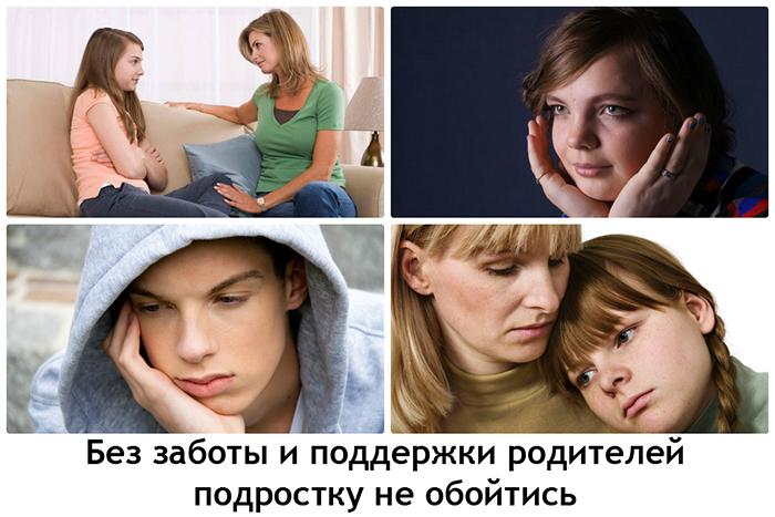 Подростки и их родители