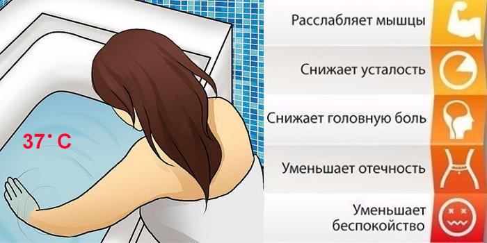Польза ванны при беременности
