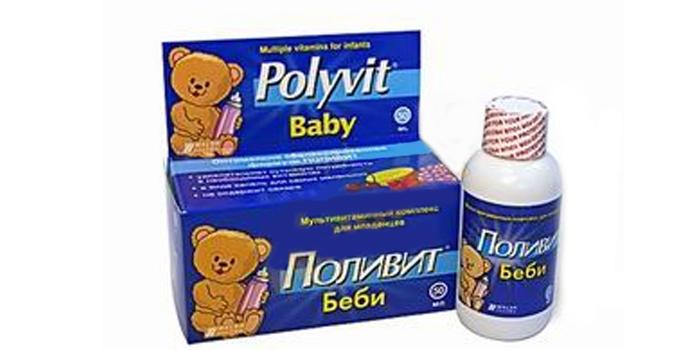 Мультивитамины в каплях Polyvit Baby