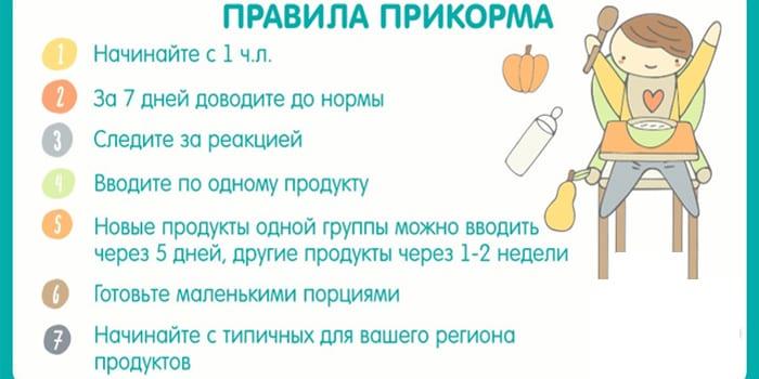 Рекомендуется начинать прикорм с маленького кусочка желтка , который нужно давать перед кормлением грудью.