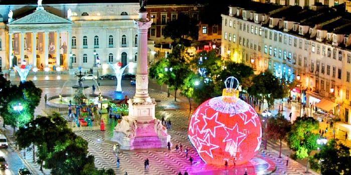 Предновогодний Лиссабон