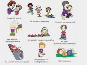 10 признаков аутизма у детей и взрослых