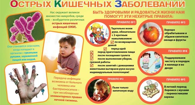 Профилактика острых кишечных заболеваний