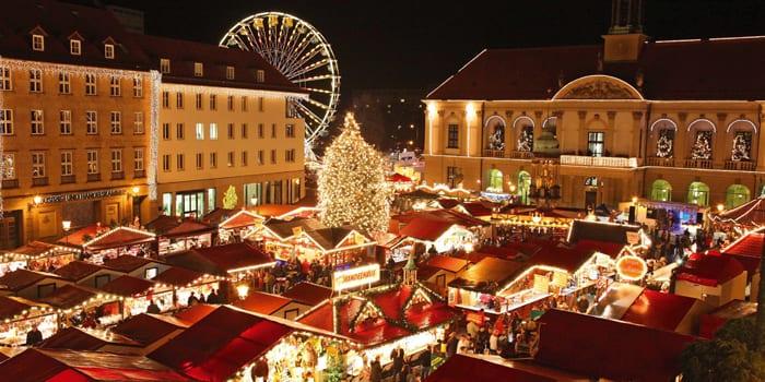 Рождественский базар в Магдебурге
