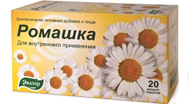 Аптечный чай с ромашкой