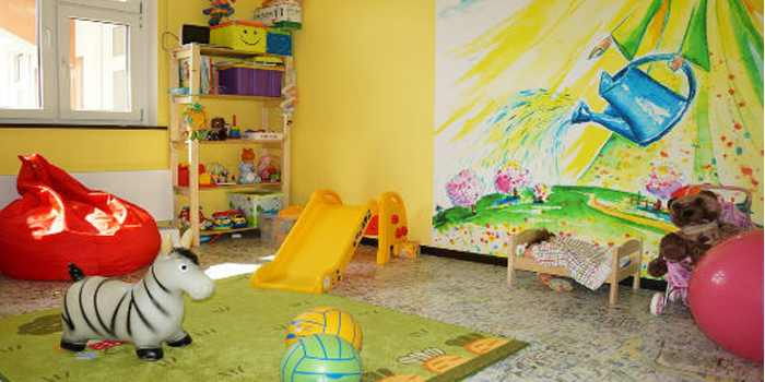 Игровая комната в Комарике