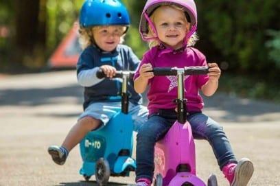 Самокат детский 3-х колесный для мальчика и девочки