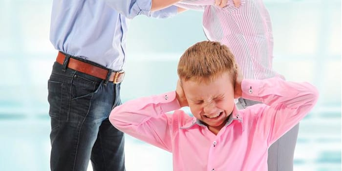 Семейный конфликт при ребенке
