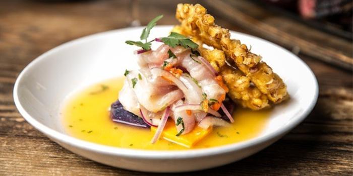 Севиче из морепродуктов