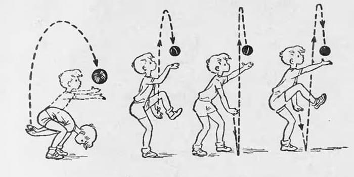 Более сложные упражнения в игре Школа мяча