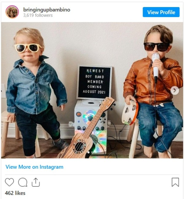 Идеи объявления беременности в социальных сетях
