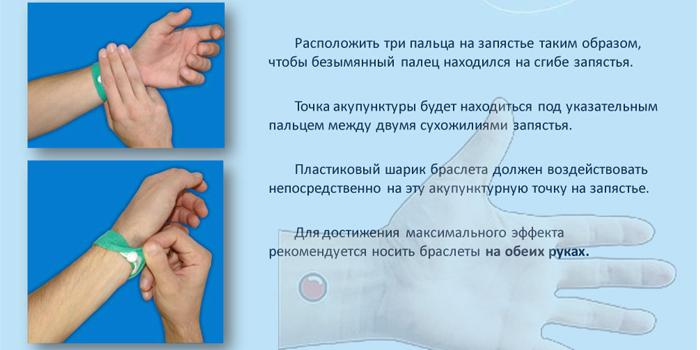 Инструкция по применению браслета