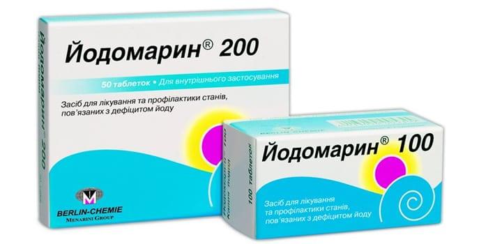 Таблетки Йодомарин