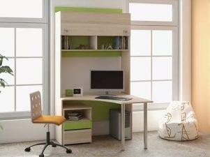 Угловой письменный стол для школьника — обзор моделей с ценами
