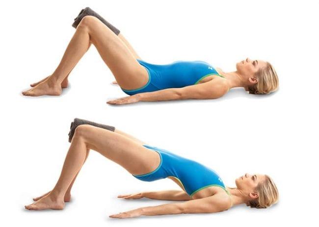 Упражнения для мышц живота и спины