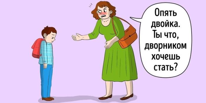 Родительские упреки