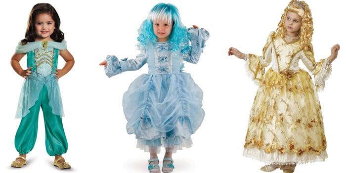 Новогодние наряды принцесс