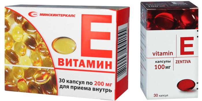 Препараты витамина Е