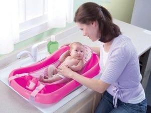 Топ-6 гамаков для купания новорожденных