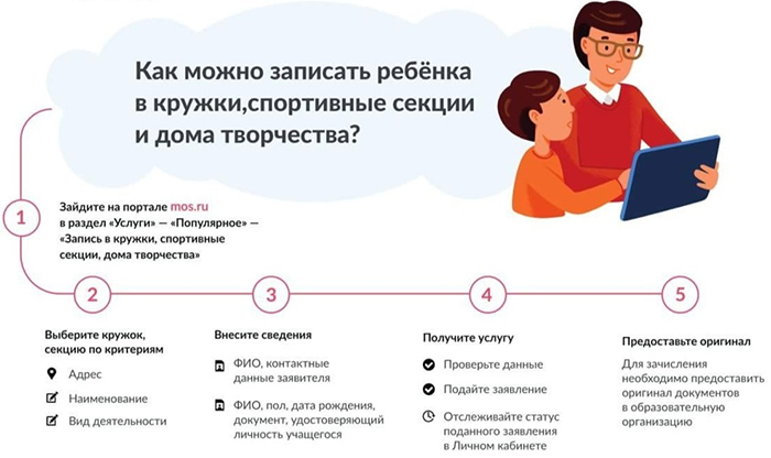 Порядок записи для москвичей